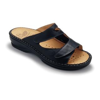 DORIN čierne zdravotné papuče