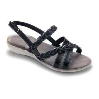 DUNGLOE čierne sandále