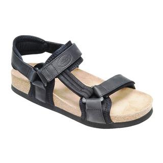 NEW TRACK čierne zdravotné sandále