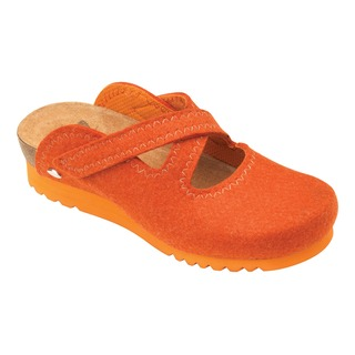 Clontarf WG hrdzavá domáca obuv