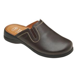 Toffee tmavo hnedá domáca obuv
