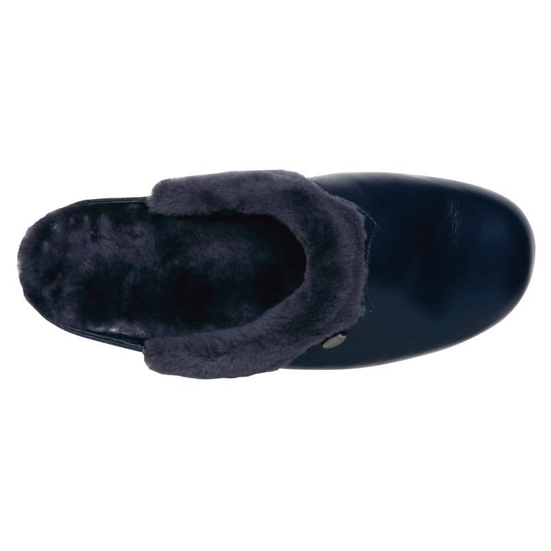 Scholl WARMLINE tmavo modrá domáca obuv