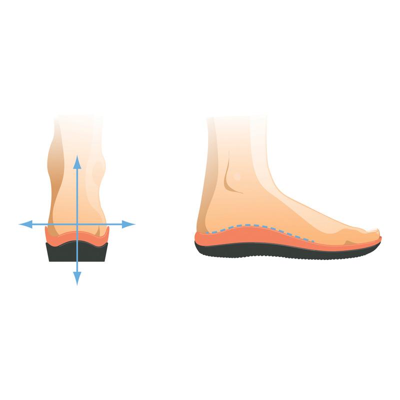 Scholl LIGHTWALKER biele / modré zdravotné poltopánky